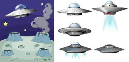 UFO auf dem Platz