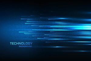 Blauhintergrund des digitalen Konzeptes der Technologie vektor