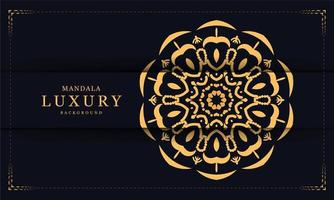 Dekorativer Luxusmandalahintergrund vektor