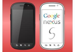 Google nexus s vektor