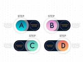 Infographik Template-Design