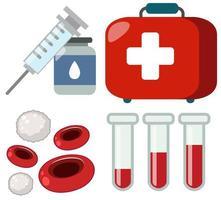 Eine Reihe von medizinischen Versorgung