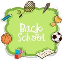 Zurück zu Schule Element Banner