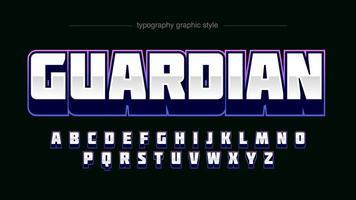 Professionelles Typografie-Design