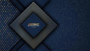 Dunkler Luxusdiamanthintergrund mit Deckschichten vektor
