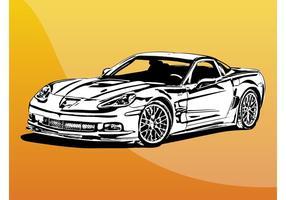 Schnelles Auto vektor