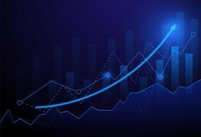 Geschäftskerzenhalter-Diagrammdiagramm der Börse