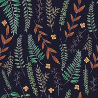 Blätter zeichnen Hintergrund