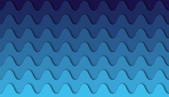 Abstrakter scharfer Wellenhintergrund mit Papierschnittformen vektor