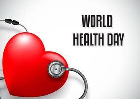 Världshälsodag koncept vektor