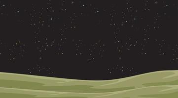 Natthimmel med stjärnabakgrund vektor