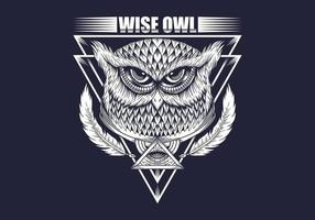 Wise Owl ritning