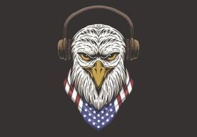 eagle head usa design