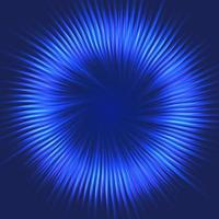 Abstrakt blå starburst design