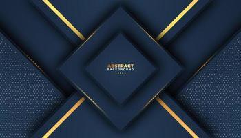 Dunkler abstrakter geometrischer Luxushintergrund