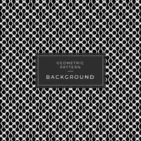 abstrakt svartvit loopade former bakgrund