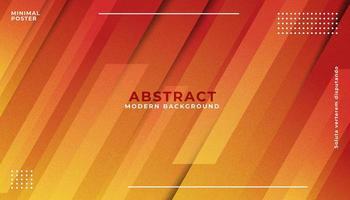 orange abstrakter geometrischer Hintergrund vektor