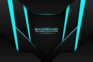 dunkler geschichteter abstrakter Formhintergrund mit blauen Streifen