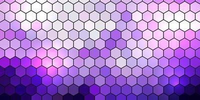 banner design med sexkantigt mönster