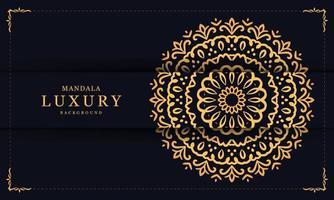 Füllendes luxuriöses dekoratives Mandala vektor