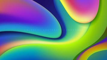 abstraktes Freiform-Formdesign vektor