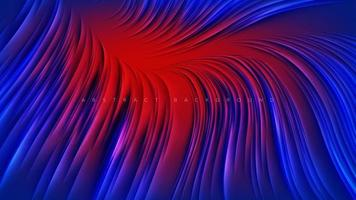abstrakt röd blå linje design