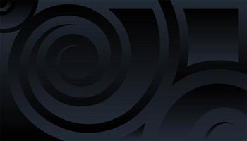 geometrischer Hintergrund mit Wirbelpapierschnittformen vektor