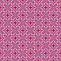magenta och ljusrosa geometriska mönster vektor