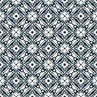 geometrische Marine und weißes Muster vektor