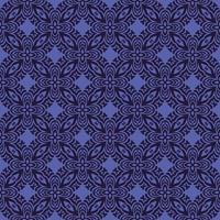 lila mit dunkelblauen Details geometrisches Muster vektor