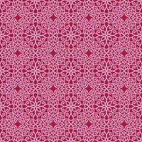 geometrisches Muster in Rosa und Magenta vektor