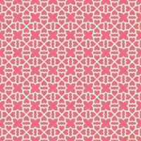 rosa med ljusare rosa geometriska mönster