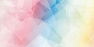 geometrische Form des abstrakten polygonalen Hintergrunds vektor