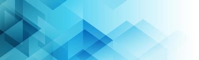 abstrakter polygonaler Bannerhintergrund vektor