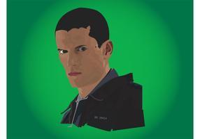 Michael Scofield Vektor