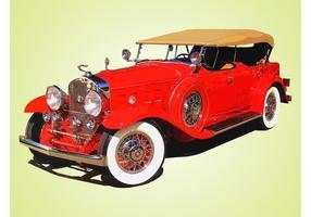 Antike Cadillac vektor