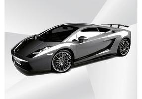 Lamborghini Gallardo vektor