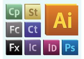 Adobe software vektor