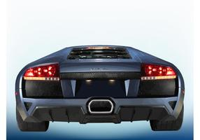 Luxus-Sportwagen vektor
