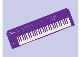 Tastatur-Vektor vektor