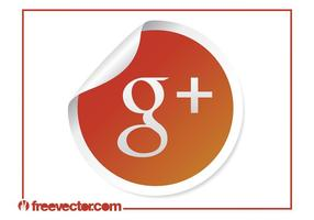 Google plus ikone vektor