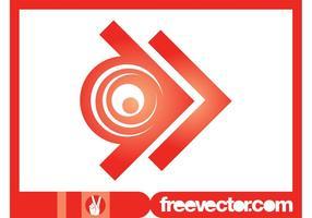 Pfeil-Logo-Vorlage