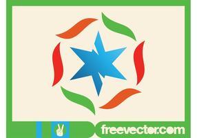 Star Logo Vorlage vektor