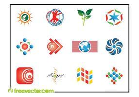 Abstraktes Logo gesetzt vektor