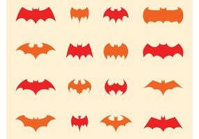 Batman logoset vektor