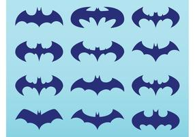 Batman logo pack vektor