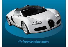 Bugatti veyron super sport vektor