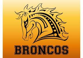 Broncos-Logo vektor