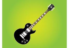 Gibson Les Paul Gitarre vektor