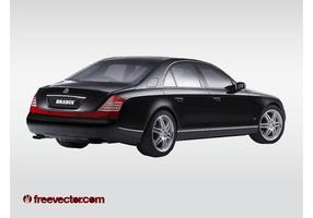 Maybach limo vektor